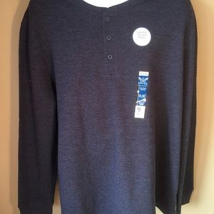 Other - Signature Thermal Henley Fade Shrink Resistant 3X