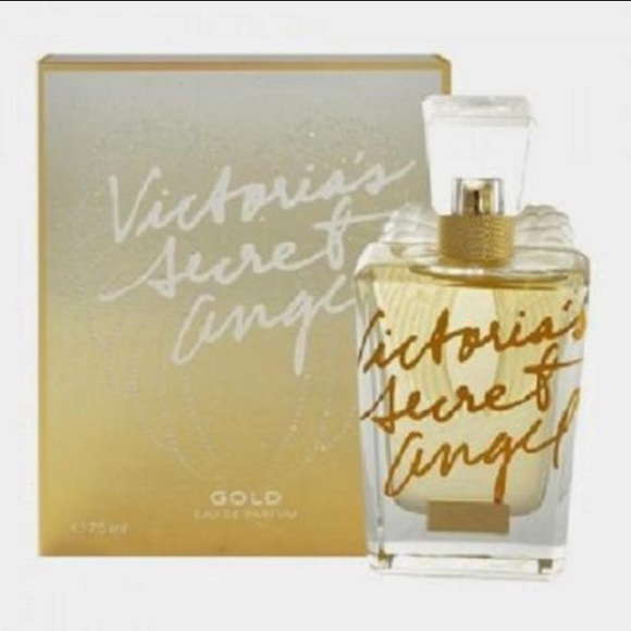 Victorias Secret Other Victorias Secret Angel Gold Perfume Box