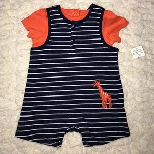 Offspring Other - NWT BABY ROMPER AND TOP 3 months