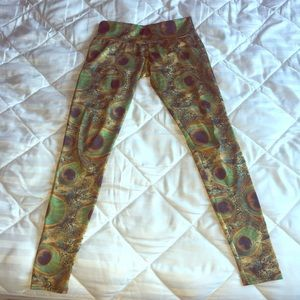 f9bc89eed7c4 Onzie Pants - Onzie long leggings - peacock green