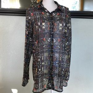CAbi Tops - Patterned CAbi button up