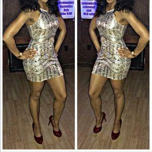 Fashion Nova Dresses & Skirts - Sequin dress 👗Worn once 1 HOUR SALE
