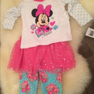 Other - Minnie Mouse tutu outfit