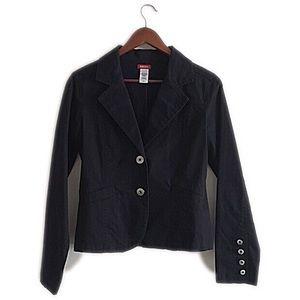 Guess Jackets & Blazers - Guess black button up blazer