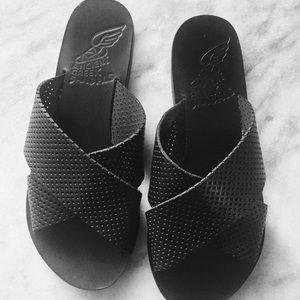Ancient greek sandals Shoes - 🖤BLACK ANCIENT GREEK SANDALS🖤