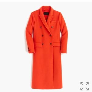 J Crew Collection Wool Cashmere Duster Coat!