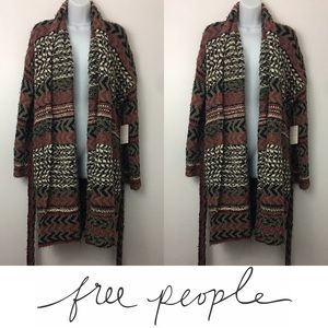 Free People Sweaters -   Free People   Iona Wrap Belted Cardigan