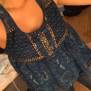 Boho Urban Outfitters top