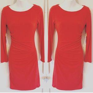 Velvet Dresses & Skirts - Velvet by Graham & Spencer  Red cocktail Dress  XS