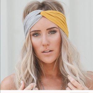 Twist turban headband