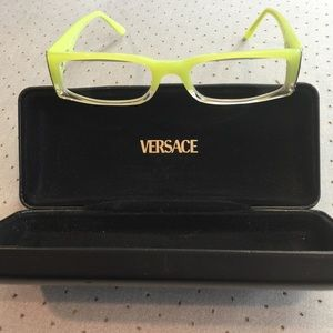 Versus By Versace Accessories - Glasses 👓 Versace lime green crazy cute! Nice !!!
