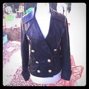 3.1 Phillip Lim lamb skin leather jacket