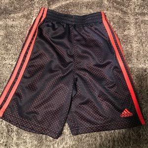 Boys adidas shorts size 5