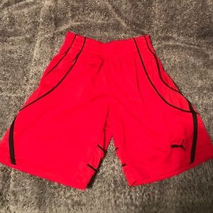 Boys Puma shorts size 6