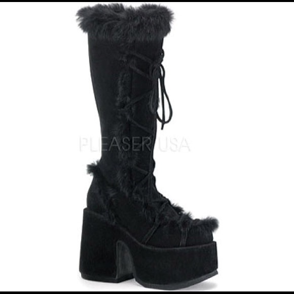 d780861b8c6 Demonia Shoes - Demonia Black Platform Gogo boots