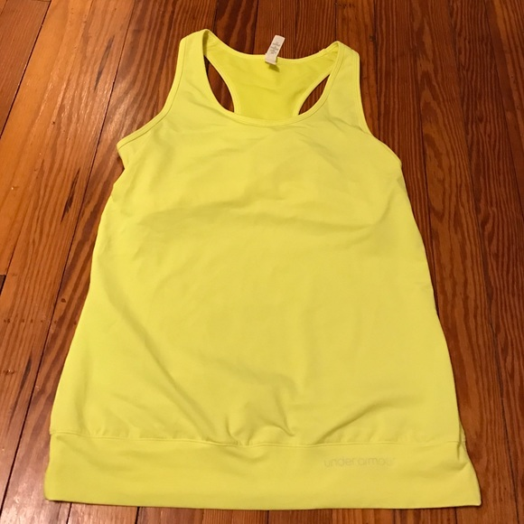 76 off under armour tops new under armour tank with for Shirts with built in sports bra