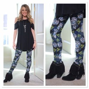Infinity Raine Pants - ✨2 for 35 sale✨Spring forward floral leggings OS