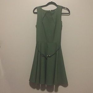 Closet Dresses & Skirts - Luck Be A Lady A-Line Dress in Fern