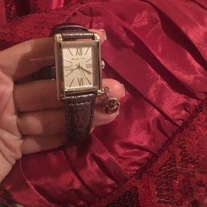 KORS Michael Kors Accessories - Michael Kors watch with hanging charm nwt