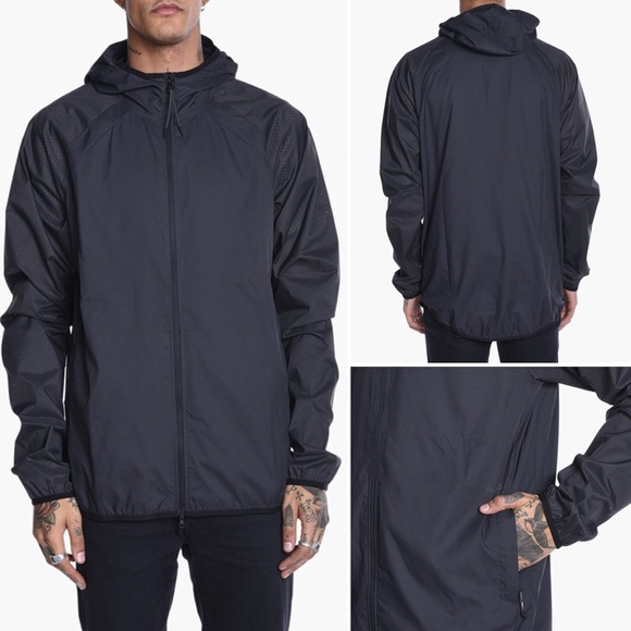76c6e75e8638 NWT Men s Puma X Stampd Windbreaker Jacket black M