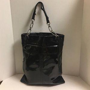 Lanvin Handbags - Lanvin black patent leather tote