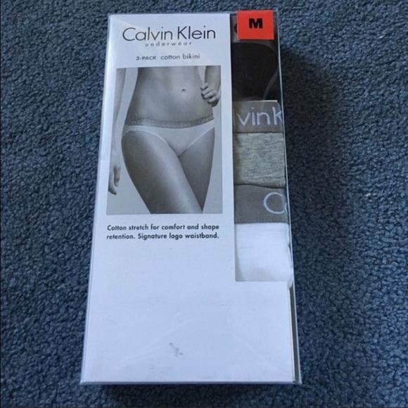 076282d2fe0 Calvin Klein 3 pack cotton bikini underwear NWT