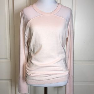 NWT LACOSTE - Blush Pink Sweater