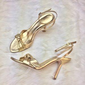 kate spade Shoes - Kate Spade Metallic Heeled Sandals