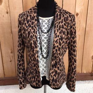 Spiegel Jackets & Blazers - Cheetah Blazer
