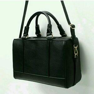 Zara Large Bowling Bag - Black