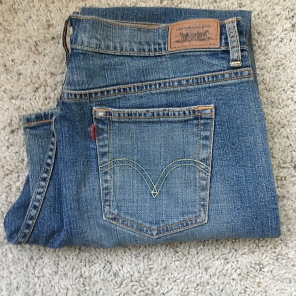 71% off Levi's Denim - Levi's 515 boot cut rare blank red tag ...