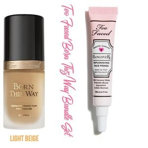 Too Faced Other - TOO FACED Hangover Rx & Born This Way Foundation