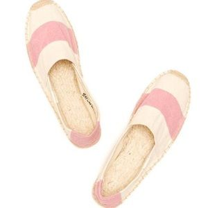 Soludos Shoes - Soludos Pink stripe BARCA Espadrilles Size 8