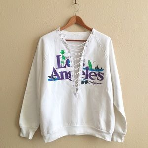 LF Tops - 80s / LA Crewneck Sweatshirt