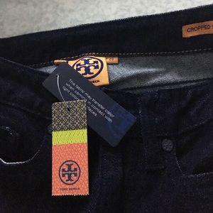 Tory Burch Denim - FINAL 💵-- NWT Tory Burch cropped skinny jeans