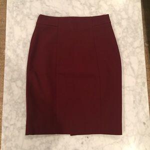H&M Burgundy Pencil Skirt *NEW*