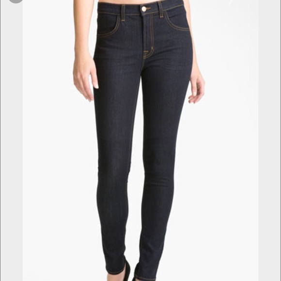 63 off j brand denim 1 hr sale nwt j brand maria high rise skinny jean from mary 39 s closet on. Black Bedroom Furniture Sets. Home Design Ideas