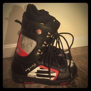 Burton Other - Burton Andy Warhol Snowboarding Boots Men's 10