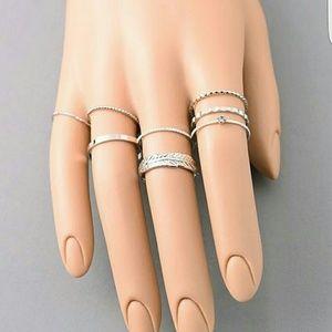 Jewelry - Gabbi Midi Ring Set