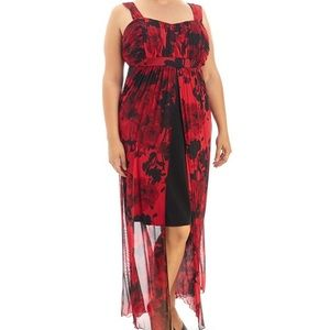 Dresses & Skirts - Apron Front Empire Waist Gown