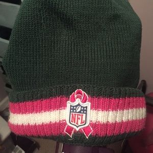 NFL Accessories - ny jets breast cancer awareness winter hat 322e81136
