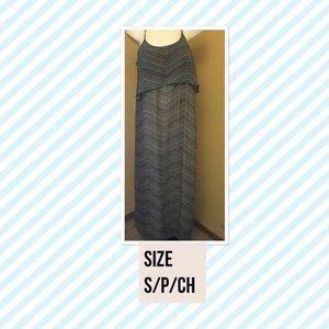 Wendy Bellissimo Dresses & Skirts - Full Length Zig Zag Dress Wendy Bellissimo