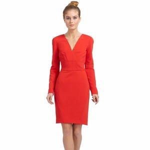 Z Spoke by Zac Posen Dresses & Skirts - Z Spoke by Zac Posen Red Vneck Bondage Dress