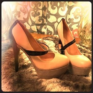 Jessica Simpson Shoes - Jessica Simpson Platform Vegas Club Heels 10