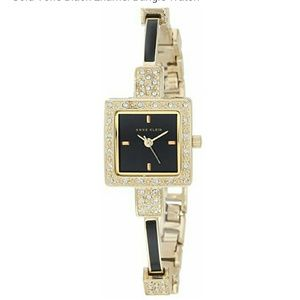 Anne Klein Accessories - New Anne Klein sawrovski crystals bracelet watch