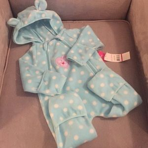 "Pink Platinum Other - ""Mommy Loves Me"" Cozy Snow Suit NWT"
