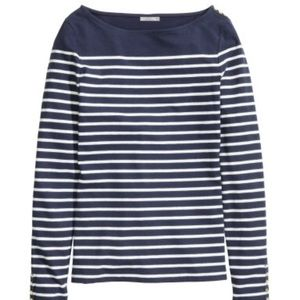 H&M Tops - H&M Boat Neck Top