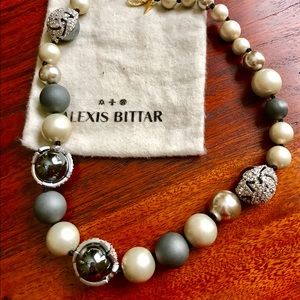 Alexis Bittar Jewelry - Alexis Bittar NWOT pearly crystal mosaic necklace