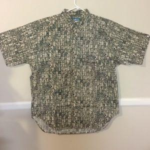 Big Dogs Other - Big Dogs Batik Cotton Button Down Shirt