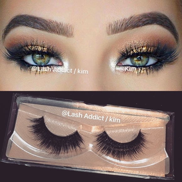 d1a743297b2 Makeup   Full Wispy Mink Eyelashes 3d Lashes Lilly   Poshmark